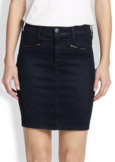 AG Adriano Goldschmied Kodie Denim Mini Skirt