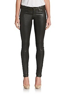 AG Adriano Goldschmied Leatherette Jeggings