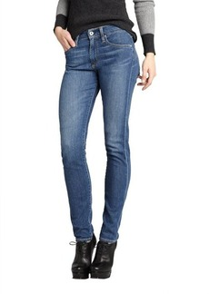 AG Adriano Goldschmied medium blue stretch denim 'Farrah' skinny jeans