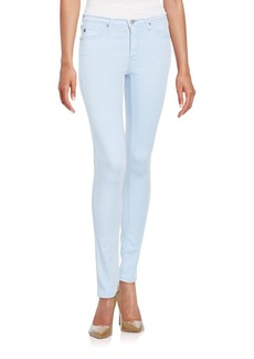 AG Adriano Goldschmied Mid-Rise Skinny Cigarette Jeans