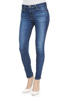 AG Adriano Goldschmied Middi 12 Years Wingspan Whiskered Skinny Cropped Jeans