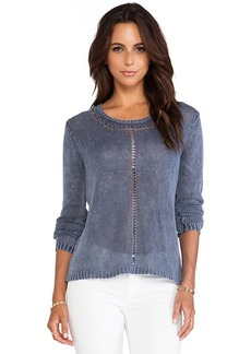 AG Adriano Goldschmied Migration Boatneck Sweater in Slate