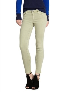 AG Adriano Goldschmied moss stretch denim 'The Legging Ankle' super skinny ankle jeans