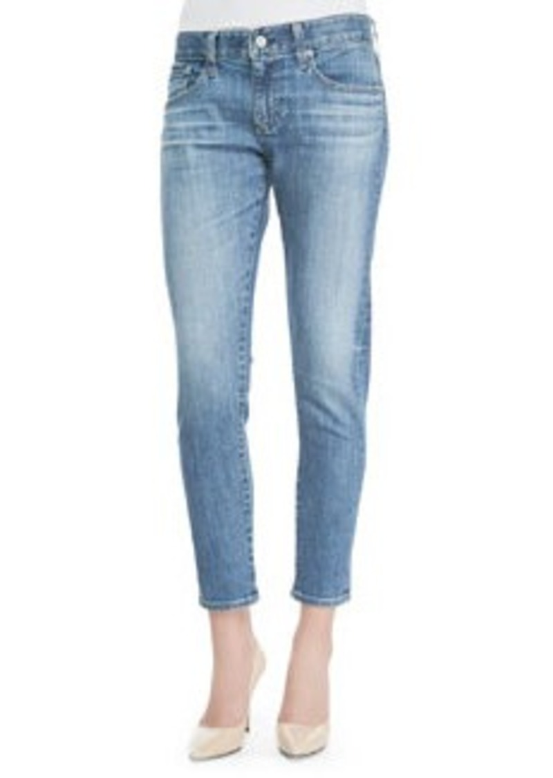 AG Adriano Goldschmied Nikki 18 Years Enchantment Cropped Relaxed Faded Jeans