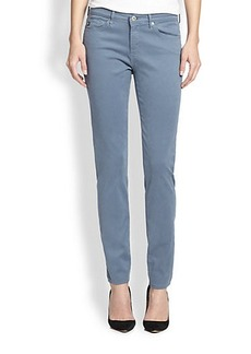 AG Prima Sateen Slim Straight-Leg Jeans