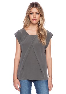 AG Adriano Goldschmied Rowan Pleat Top