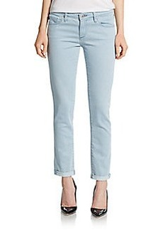 AG Adriano Goldschmied Sky Cigarette Roll-Up Jeans