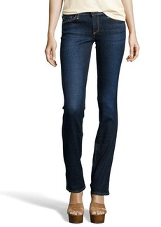 AG Adriano Goldschmied smitten dark blue wash 'The Ballad' slim bootcut jeans