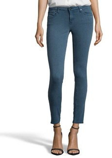 AG Adriano Goldschmied sulfur calm blue 'The Legging Ankle' skinny jeans