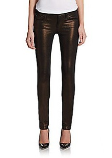 AG Adriano Goldschmied Super Skinny Shimmer Legging Jeans
