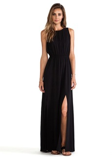 AG Adriano Goldschmied Sway Maxi Dress in Black