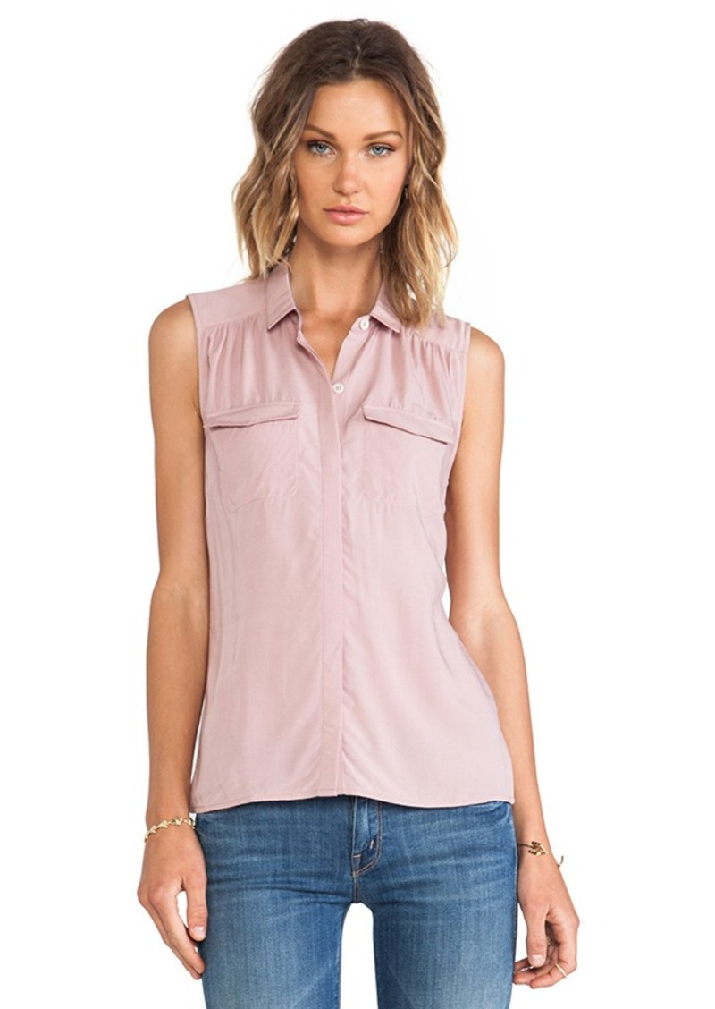 AG Adriano Goldschmied Sway Sleeveless Tank in Mauve