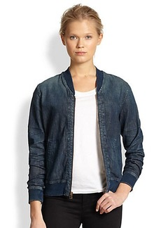 AG Adriano Goldschmied Tek Denim Bomber Jacket