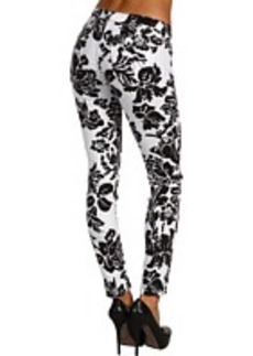 AG Adriano Goldschmied The Legging Ankle Graphic Floral Twill