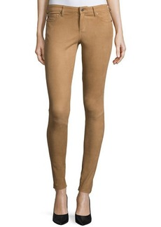 AG Adriano Goldschmied The Suede Full-Length Legging