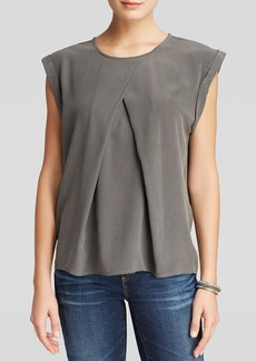 AG Adriano Goldschmied Top - Rowan Pleat