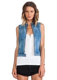 AG Adriano Goldschmied Twilight Vest in Blue
