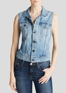 AG Adriano Goldschmied Vest - Debbie Denim