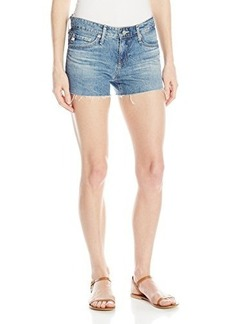 AG Adriano Goldschmied Women's Bonnie Relaxed Cotton Short