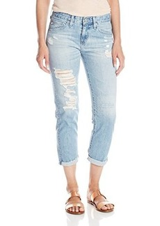 AG Adriano Goldschmied Women's Ex-Boyfriend Slouchy Slim Jean, 23 Years Sun Bleached Destroyed, 29