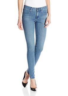 AG Adriano Goldschmied Women's Farrah High-Rise Skinny Jean In Spectral