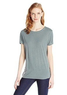 AG Adriano Goldschmied Women's Float T-Shirt, Sage Cliffs, Large
