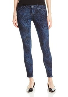 AG Adriano Goldschmied Women's Legging Ankle Skinny Jean In Igloo Print, Igloo, 26