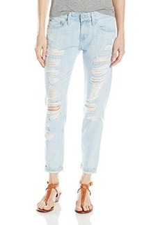 AG Adriano Goldschmied Women's Nikki Relaxed Skinny Crop Jean, 18 Years Shredded, 30