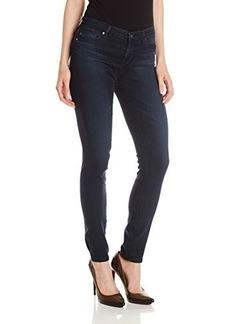 AG Adriano Goldschmied Women's Prima Mid-Rise Cigarette Jean, Black Sand, 25