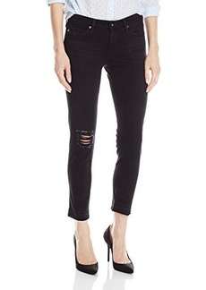 AG Adriano Goldschmied Women's Stilt Cigarette Crop Jean, Repurposed Black, 28