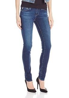 AG Adriano Goldschmied Women's Stilt Cigarette Leg Jean In 5 Years Deep Blue