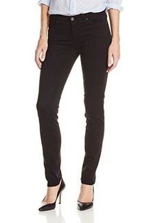 AG Adriano Goldschmied Women's Stilt Cigarette Leg Jean in Super Black