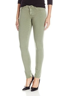 AG Adriano Goldschmied Women's Stilt Cigarette Leg Jean Pant, Sulfur Dry Leaf, 26