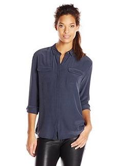 AG Adriano Goldschmied Women's Sway Silk Shirt