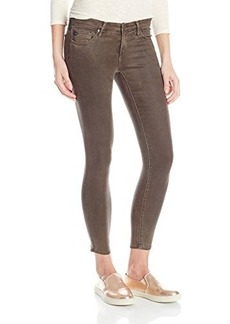 AG Adriano Goldschmied Women's The Legging Ankle Super Skinny Leatherette, Vintage Leatherette Bitter Chocolate, 26