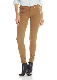 AG Adriano Goldschmied Women's The Legging Super Skinny Cord, Sulfur Golden Brown, 28