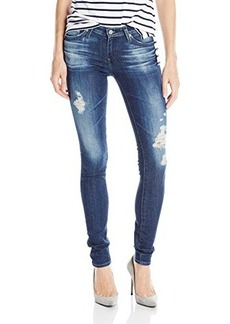 AG Adriano Goldschmied Women's The Legging Super Skinny Destructed, 7 Years Ripped, 28