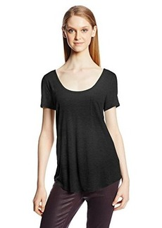 AG Adriano Goldschmied Women's Wren Pocket Tee Shirt