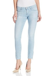 AG Adriano Goldschmied Women's Zip-Up Legging Ankle Skinny Jean In Winter Moon