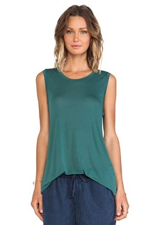 AG Adriano Goldschmied Wren Muscle Tee in Green