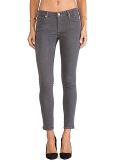 AG Adriano Goldschmied Zip-Up Legging Ankle