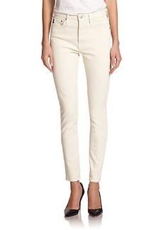 AG Alexa Chung For AG The Brianna High-Rise Skinny Jeans