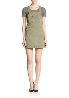 AG Alexa Chung For AG The Gillian Denim Skirt Overalls