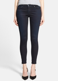 AG Ankle Zip Skinny Jeans (Tracker)