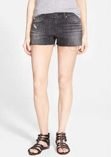 AG 'Bonnie' Cutoff Denim Shorts (8 Year Midnight Shift)