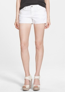 AG 'Bonnie' Cutoff Shorts (White Restored)
