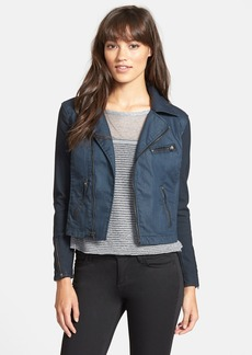 AG Cotton Twill Moto Jacket