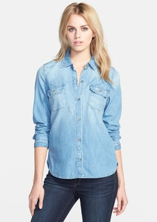 AG 'Dakota' Button Front Denim Shirt