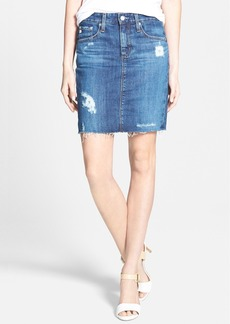 AG 'Erin' Denim Pencil Skirt (10 Year Ascension)