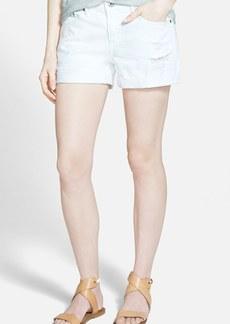 AG 'Hailey' Boyfriend Shorts (White Restored)